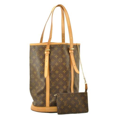 LOUIS VUITTON Monogram Bucket GM Shoulder Bag M42236 Auth 10719 **No Sticky