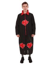 Adult Men's Naruto Akatsuki Costume   Black & Red Cosplay Costume - $34.85