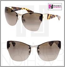 Miu Miu Eclat Sunglasses MU52PS ZVN-1X1 Brown Yellow Translucent Gradient 52P - $277.20
