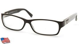 Emporio Armani EA9497 Vzn Brown Eyeglasses Frame 53-13-135 B30mm Italy - $63.69