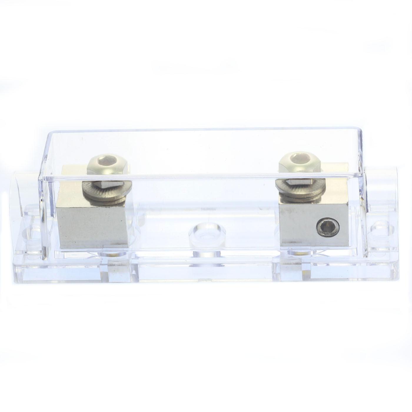 ANL Fuse Holder Voodoo Bright nickel fuseholder 4  AWG gauge inline 10