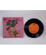 Strawberry Shortcake Meets the Spelling Bee 33 1/3 RPM Vinyl Record & Bo... - $9.89