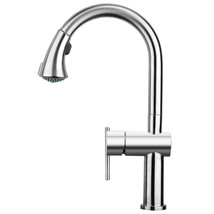 Lead Free,Single-Hole Faucet,Gooseneck Swivel Spout Pull Down Spray Head... - $750.01