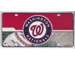 Washington Nationals License Plates Nationals License Plate