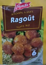 24x PACK French's RAGOUT Sauce Mix 42g Each - From Canada FRESH Delicious - $58.14