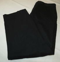 Mens Dockers D3 36 pants slacks casual school work Black pre-owned GUC - $16.03