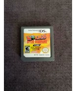 Worms: Open Warfare - (Nintendo DS, 2006) - CARTRIDGE ONLY Video Game Pu... - $5.58