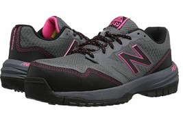 New Balance Size 7 M 589v1 Gray Pink Work Safety Toe Sneakers New Women'... - $118.80