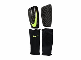 Nike Mercurial Lite Soccer Shin Guards Adult Unisex, SP0284 071 Size L  Black/Vol