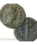 SALONINA wife Gallienus. ATHENA Macedon Ancient Roman Diassarion Orichal... - $134.10