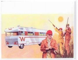 Winnebago Sales Brochure, 1969 Hunting 24x24 Inch   Ready to ship now - $18.99