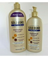 Gold Bond Ultimate Radiance Renewal for Visibly Dry Skin Lotion, 20oz & ... - $23.66