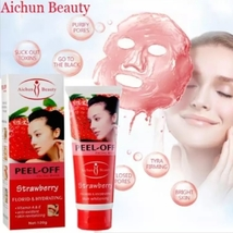 2 Tubes of Florid & Hydrating Strawberry peel off Mask with Vitamins A+ E - $19.98