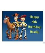 Toy Story Jessie & Woody Edible Cake Image Cake Topper - $8.98+