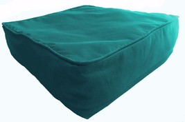 Blue Box Cushion Cover Solid Polyester With Piping & Zipper - $65.64+