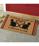 Cat Home Novelty Coco Doormat  - $16.00