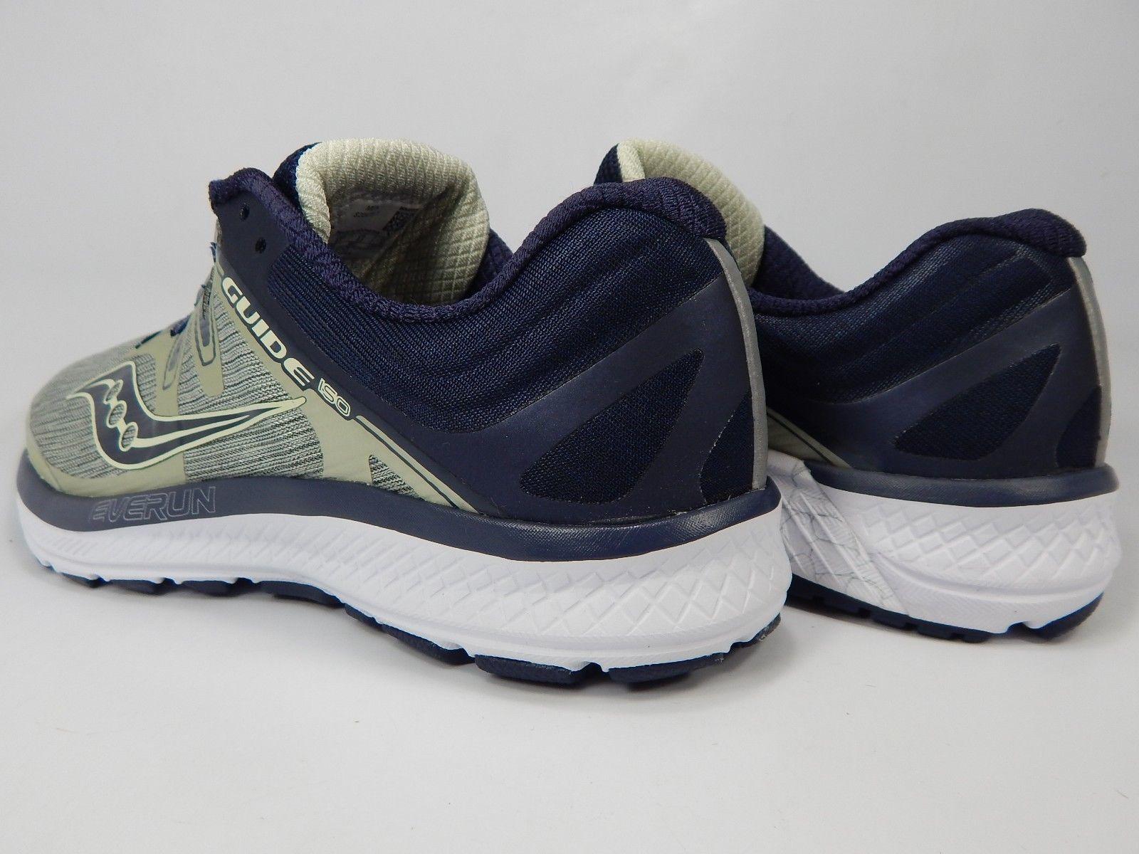 Saucony Guide ISO Size 9.5 M (D) EU 43 Men's Running Shoes Gold Blue S20415-1