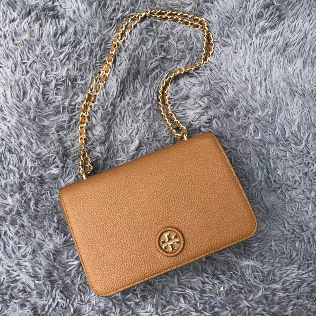 c1673bf2461e Tory Burch Whipstitch Logo Adjustable Chain and 50 similar items. Img 3335