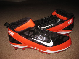 Nike Air Zoom Super Bad 3 Td Promo Sample Cleats Chicago Bears Jay Cutler - $99.99