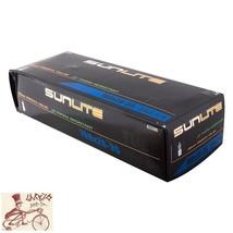 SUNLITE STANDARD 700 x 23-25 27x1x1-1//8 80mm PRESTA VALVE BICYCLE TUBE