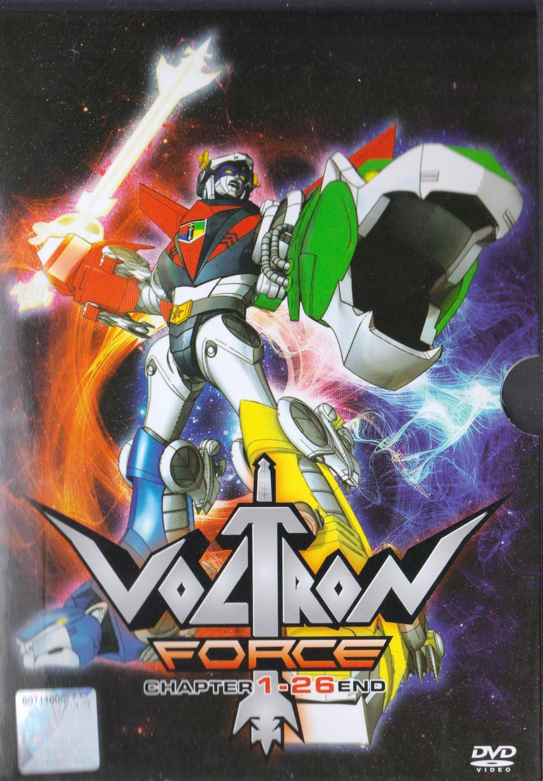 Primary image for Anime DVD Voltron Force Chapter 1-26 End English Dubbed Free Shipping