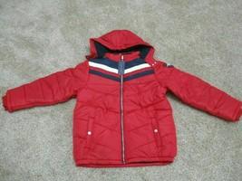 BNWT Tommy Hilfiger Big Boys David Hooded Puffer Red Jacket, SizeXL(18-20), $100 - $57.92