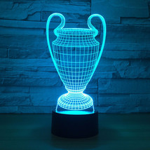 Super Bowl Championship LED 3D Illusion Lamp Light Lamplight Neon Sign 2... - $24.70