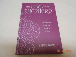 NEW HALLMARK BOOK: THE LORD IS MY SHEPHERD BOOK OF PSALMS LANCE WUBBELS ... - $4.94