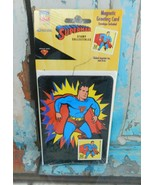 DC Superman 1998 USPS Stamp Collectibles Magnetic Greeting Card w/ Envelope - $7.91
