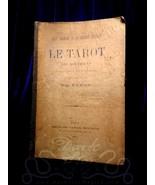 Le Tarot des Bohemiens 1889 RARE 1ST ED Papus Gerard Encausse occult the... - $494.99