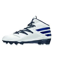Adidas Mens Size 17 Freak X Carbon Mid Mens Football Cleats White / Blue New - $34.53