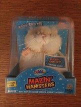 WEBKINZ MAZIN' HAMSTERS HONEY + PACK CARDS -FIRST EDITION- NEW W/ SEALED... - $9.46