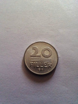 20 Filler Hungary 1986 coin free shipping monete - $2.89