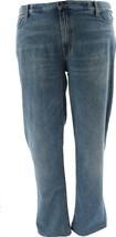 Lands' End Men's Comfort Waist Jeans 5PKT Denim Medium Wash 42 NEW 501599 - $41.56