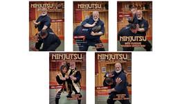 5 DVD SET Ninjutsu Secrets Empty Hand fighting escapes DVD Stephen Hayes - $120.00