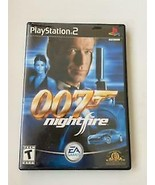 007 Nightfire - (Sony Playstation 2, 2002) ~ James Bond ~ TESTED WITH MA... - $5.87