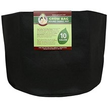 Gro Pro Premium Round Fabric Pot 10 Gallon, Black - $16.12
