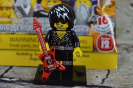 2014 Lego Series 12 Minifigure 71007 Rock Star - $3.71