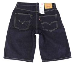 BRAND NEW LEVI'S 569 MEN'S COTTON SHORTS ORIGINAL RELAXED FIT BLUE 355690063 image 3