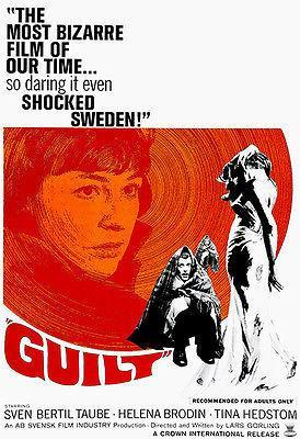 Primary image for Guilt - 1967 - Movie Poster