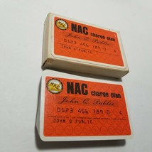 NAC Charge Plan 1960's Advertising Playing Cards Piatnik - $9.49