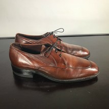 FREEMAN Free-Flex Oxfords Apron Toe, Mens 9 Medium Comb Leather. Nice! - $26.73