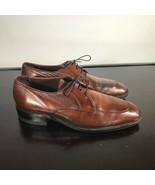 FREEMAN Free-Flex Oxfords Apron Toe, Mens 9 Medium Comb Leather. Nice! - $26.73
