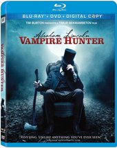 Abraham Lincoln: Vampire Hunter [Blu-ray] New