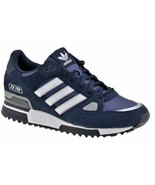 adidas Originals Mens ZX 750 Trainers Navy Blue/White All Sizes Brand New - $115.18