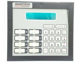 QUARTECH KEYPAD ASSEMBLY FOR 9900-AC-AB-3 SLC-500/DF1 32K STD RAM OPERATOR PANEL