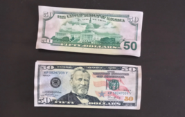 5.000 Prop Money 1 Stack Used Replica 50s All Full Print Movie Video Films Etc. - $25.99