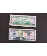 5.000 PROP MONEY 1 STACK USED REPLICA 50s All Full Print  Movie Video Fi... - $25.99