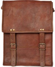 "New 13"" Men's Laptop Rustic Soft Leather Office Shoulder Travel Messenge... - $63.58"