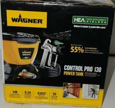Wagner 0580678 Control Pro 130 Power Tank Airless Paint Sprayer New in Box image 3